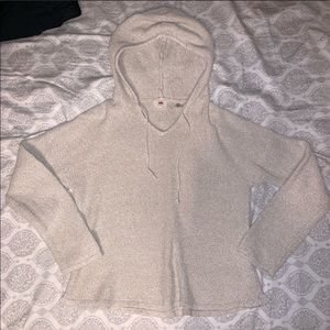 Levi's Tight Knit Cotton Hoodie Sweater womens